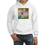 Garden / Miniature Schnauzer Hooded Sweatshirt
