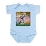 Garden / Miniature Schnauzer Infant Bodysuit