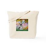 Garden / Miniature Schnauzer Tote Bag