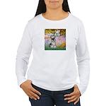 Garden / Miniature Schnauzer Women's Long Sleeve T