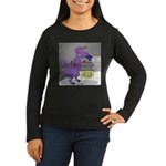 T-Rex Boxing Women's Long Sleeve Dark T-Shirt