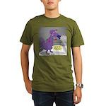 T-Rex Boxing Organic Men's T-Shirt (dark)