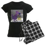 T-Rex Boxing Women's Dark Pajamas