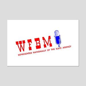 WFBM 1260 Mini Poster Print