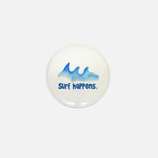 SURF HAPPENS.. Mini Button