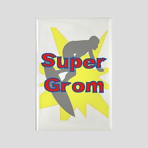 SUPER GROM! Rectangle Magnet