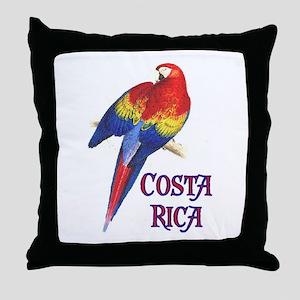 COSTA RICA II Throw Pillow
