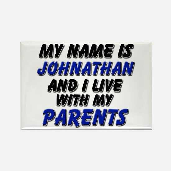 my name is johnathan and I live with my parents Re