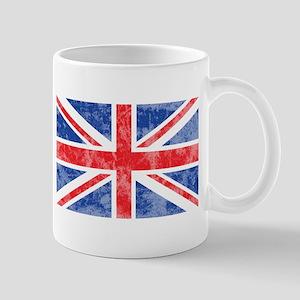 British Flag Distressed Mug