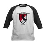 11TH ARMORED CAVALRY REGIMENT Kids Baseball Jersey