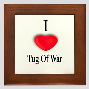 Tug Of War Framed Tile