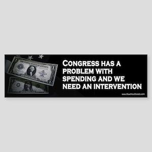Intervention Bumper Sticker