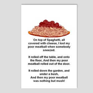 ON TOP OF SPAGHETTI.. Postcards (Package of 8)