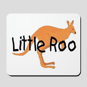 LITTLE ROO - BROWN ROO Mousepad