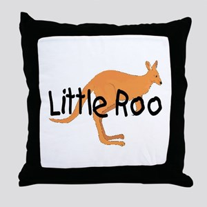 LITTLE ROO - BROWN ROO Throw Pillow