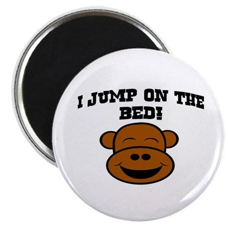 I JUMP ON THE BED! Magnet