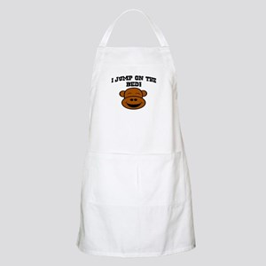 I JUMP ON THE BED! BBQ Apron