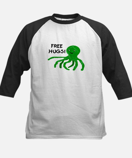 FREE HUGS! Kids Baseball Jersey
