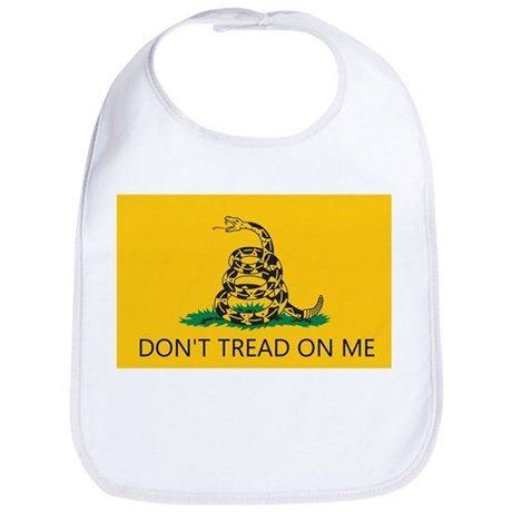 Don't Tread On Me (Gadsden Flag) Bib