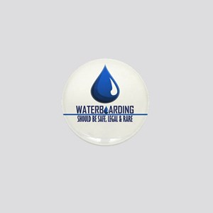 Waterboarding Mini Button
