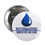 "Waterboarding 2.25"" Button (10 pack)"