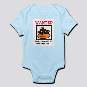 WANTED: JUMPING ON THE BED Infant Bodysuit