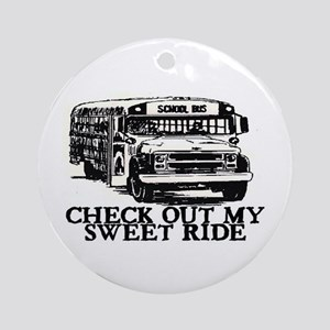SWEET RIDE II (BUS) Ornament (Round)