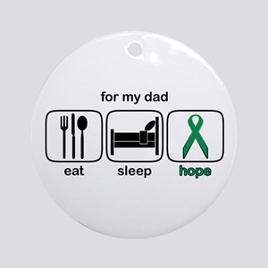 Dad ESHope Kidney Ornament (Round)