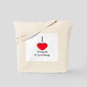 Track Cycling Tote Bag