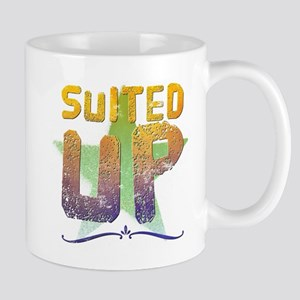 Suited up Mugs