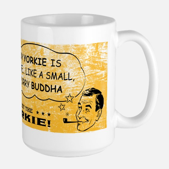 Obey the Yorkie! Spiritual Leader Large Mug