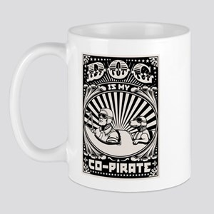 Dog is My Co-Pirate Mug