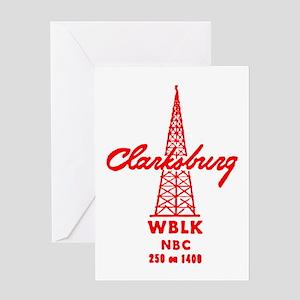 WBLK 1400 Greeting Card