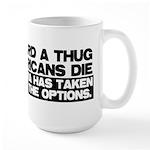 Waterboard or Americans Die Large Mug