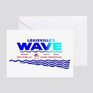 WAVE 970 Greeting Card