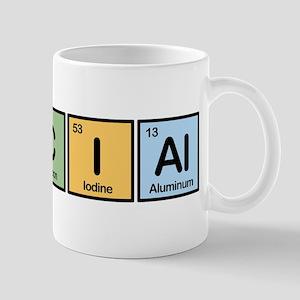 Asocial Made of Elements Mug