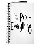 I'm Pro Everything Journal