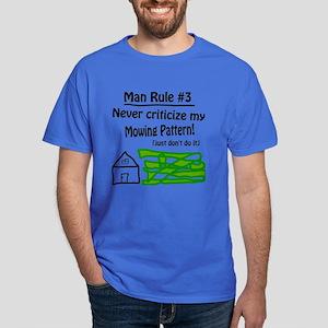 Man Rule #3 Dark T-Shirt