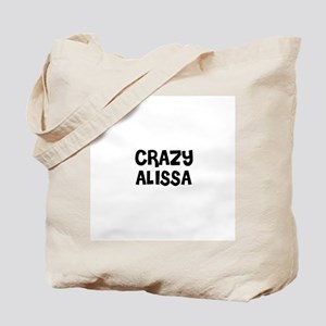 CRAZY ALISSA Tote Bag