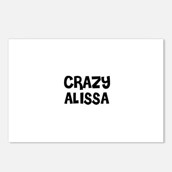 CRAZY ALISSA Postcards (Package of 8)