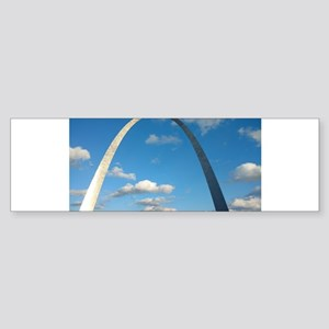 St Louis Arch Bumper Sticker