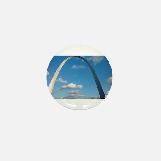 St Louis Arch Mini Button