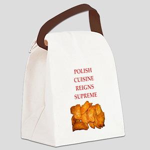 polish Canvas Lunch Bag