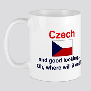 Good Looking Czech Mug