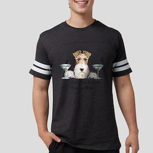 Wire Fox Terrier Happy Hour T-Shirt