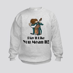 Play The Cello Sweatshirt