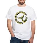 Moby Dick Logo - Navy Camo T-Shirt