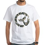 Moby Dick Logo - Air Force Camo T-Shirt