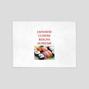 japanese 5'x7'Area Rug