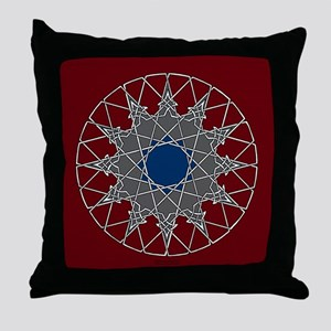 12-point Arabesque Knotwork Throw Pillow